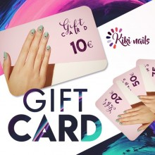 Gift card, coupon regalo 25€ kikinails
