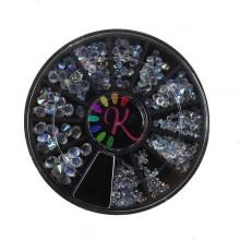 Ruota diamanti Pixie boreali, varie misure, 150 pz
