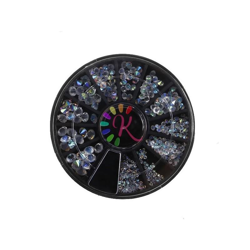 Ruota 150 Crystal Pixie boreali varie misure