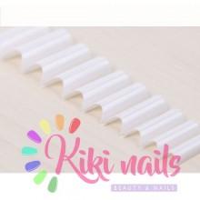 Confezione 100 nail TIP trasparenti senza scalino, forma square
