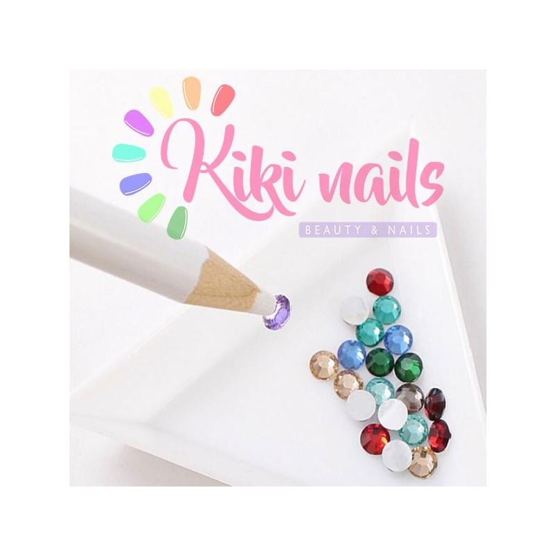 Matita cera raccogli decorazioni nail art applica strass economica