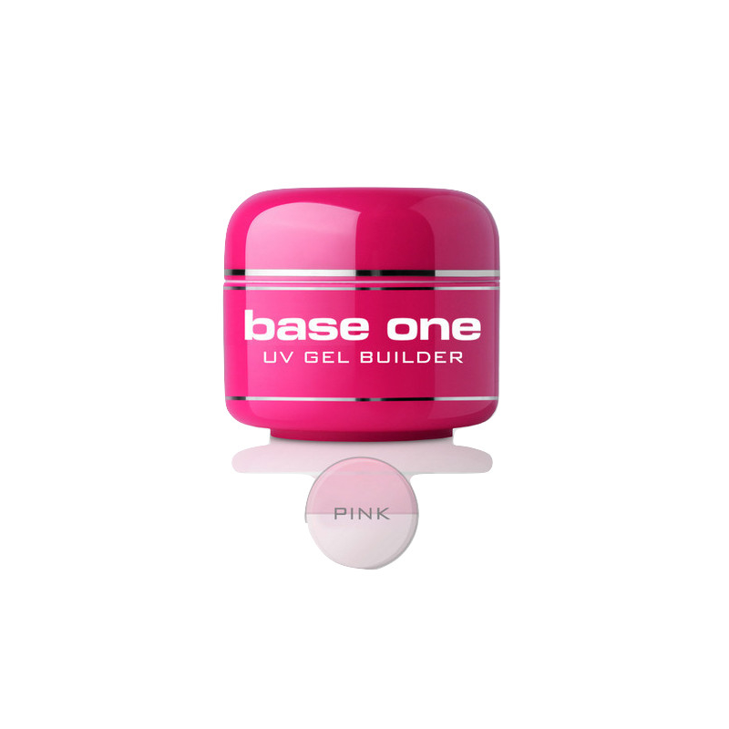 Gel costruttore Base one PINK silcare 30gr