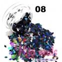 Kit rombi olografici 12 pz 2 gr Kikinails