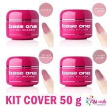 Kit gel costruttore cover base one 50 gr Silcare