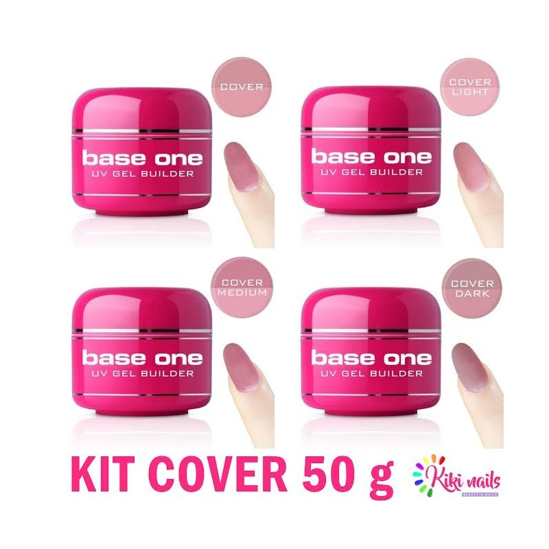Kit gel costruttore cover base one 50gr Silcare