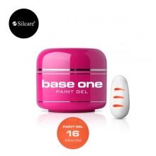 Gel color linea PAINT Base One Silcare 5 gr
