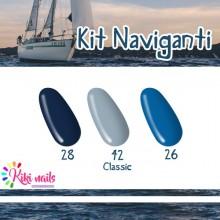 Kit naviganti: gel color Silcare classic 26,28,42