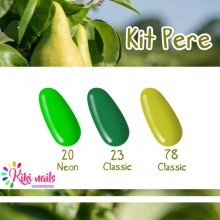 Kit pere: gel color Silcare N20, CL23, CL78