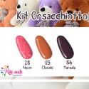 Kit violette: gel color Silcare N28, CL5, M86