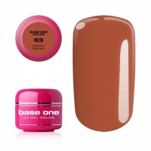 Gel color linea BROWN Base One Silcare 5 gr