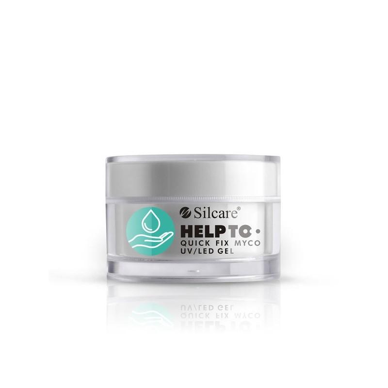 GEL COSTRUTTORE silcare HELPTO Quick fix Myco