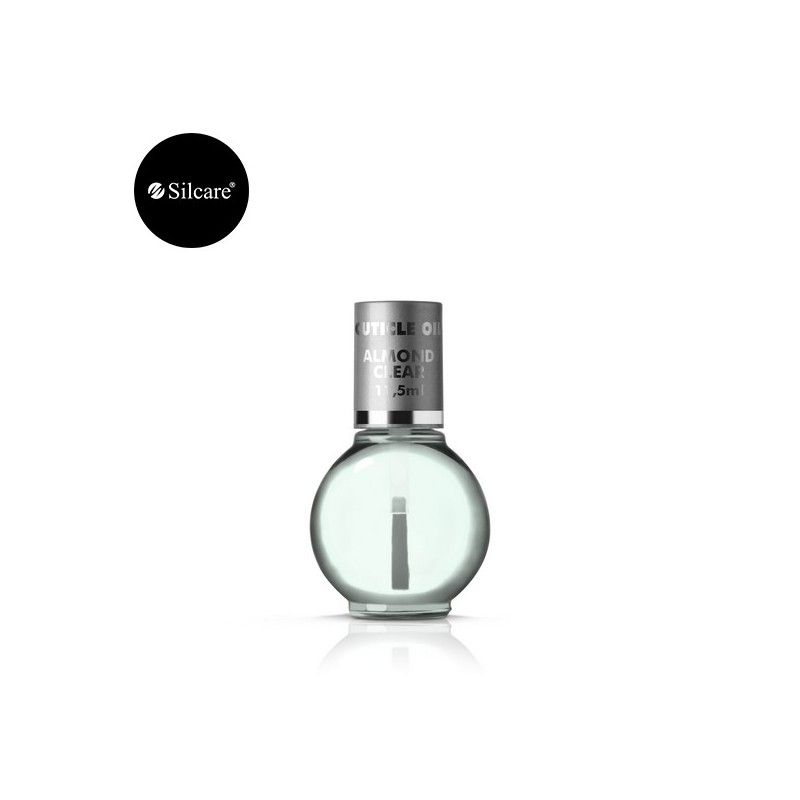 Olio cuticole idratante con pennellino, vari profumi Silcare, 33 ml
