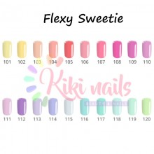 Semipermanente FLEXY linea pastel SWEETIE Silcare 4,5 gr