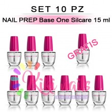 Set 10 NAIL PREP Base One Silcare 15 ml