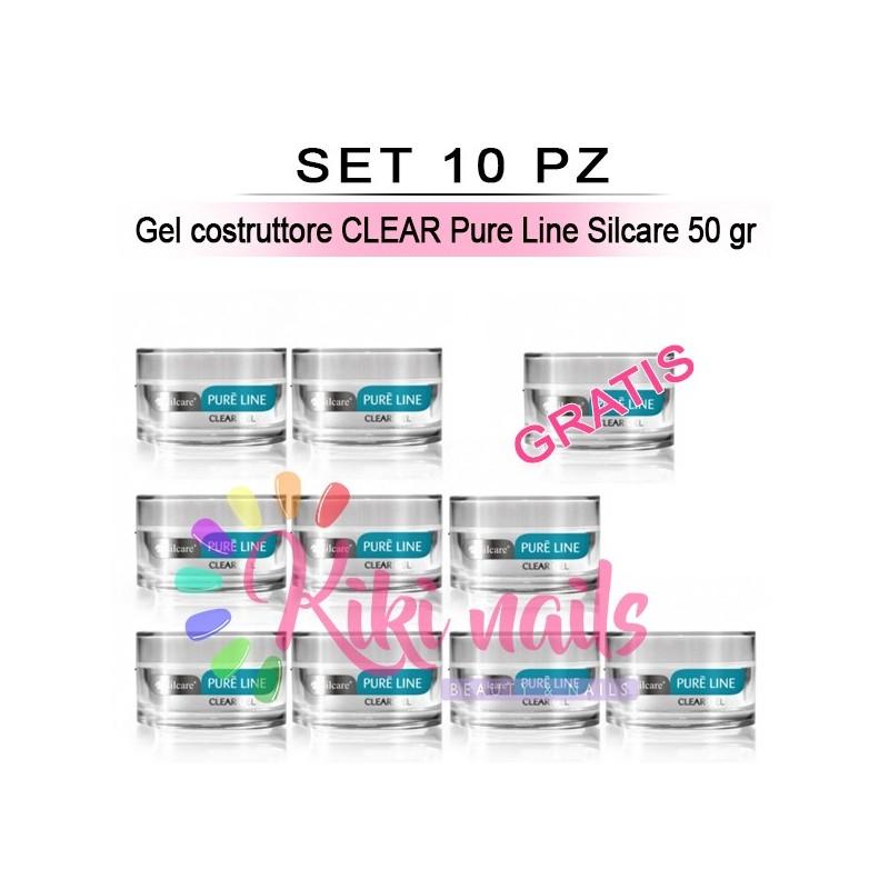 Gel costruttore Pure Line Clear 50 gr silcare