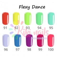 Set Semipermanente FLEXY linea Summer DANCE Silcare 4,5 gr