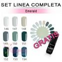 Set FLEXY linea completa EMERALD Silcare 4,5 gr