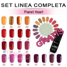Set FLEXY linea completa PLANET HEART Silcare 4,5 gr