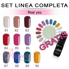 Set FLEXY linea completa REAL YOU Silcare 4,5 gr