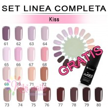Set FLEXY linea completa KISS Silcare 4,5 gr