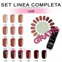 Set FLEXY linea completa LOOK Silcare 4,5 gr