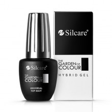 Finish Semipermanente senza dispersione TOP MATT Garden of colour Silcare 9 gr