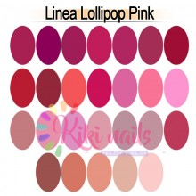 Gel color linea LOLLIPOP PINK Aglia 5 gr