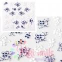 stickers 5D unghie adesivi 3D nail art rilievo unghie