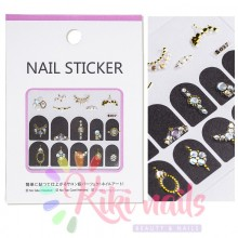 Stickers nail metallizzati JEWELRY 2