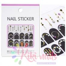 Stickers nail metallizzati JEWELRY STAR