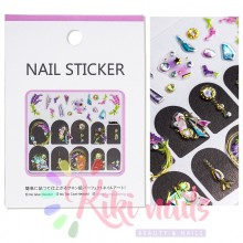 Stickers nail metallizzati JEWELRY LAVANDER