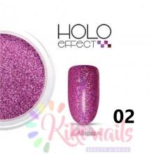 Glitter olografici EFFEKT HOLO allepaznokcie 0.1mm, vari colori, 2.5 gr