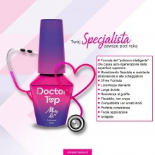 Finish senza dispersione DOCTOR TOP Allepaznokcie  10 ml