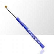 Pennello gel, punta quadrata, 6 mm Allepaznokcie