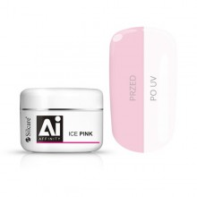 Gel costruttore Affinity ice PINK Silcare 100 gr