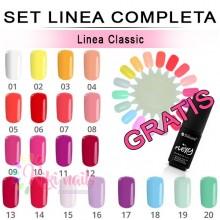 Set FLEXY linea completa CLASSIC Silcare 4,5 gr