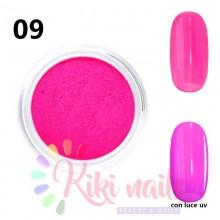 Pigmenti fluorescenti vari colori, 5gr