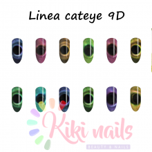 Semipermanente MOLLYLAC CAT EYE 9D Allepaznokcie 5 ml