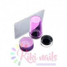 Kit per nail art stamping in silicone