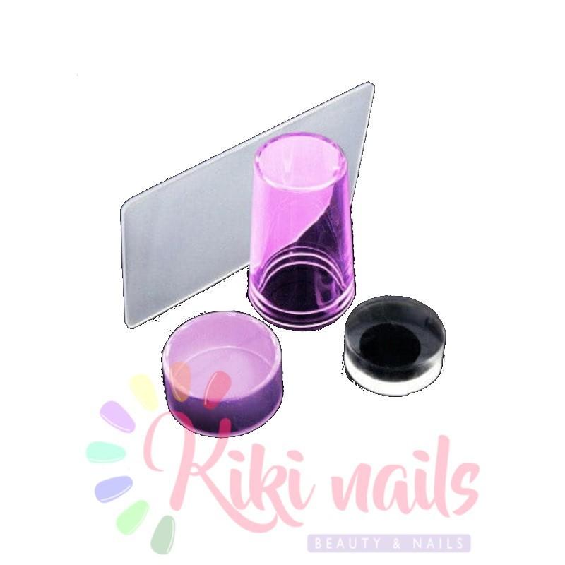 Kit per stamping unghie nail art