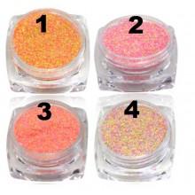 Polvere effetto zucchero/sabbia, mix di colori, 1gr