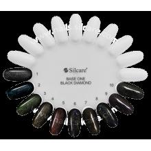 Gel color linea BLACK DIAMOND Base One Silcare 5 gr