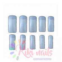 Confezione 500 nail TIP classiche con scalino, color nature