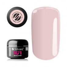 Revolution 10in1 Light Pink Hibryd gel Silcare 50 gr