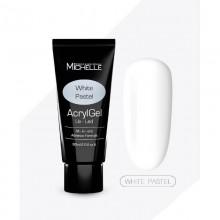 Poly Acrygel WHITE PASTEL MichelleNails 60 ml
