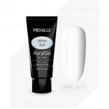 Poly Acrygel FRENCH WHITE SOFT MichelleNails 60 ml