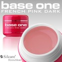 Gel costruttore FRENCH PINK DARK Base One Silcare, monofas baby boomer
